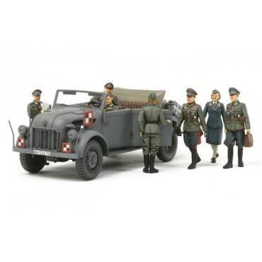 German Steyr 1500A con 7 figure 1:35