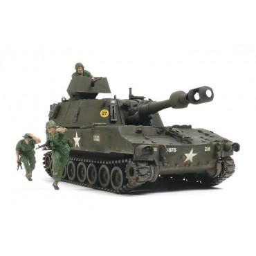 Carro Howitzer M109 US Vietnam War 1:35