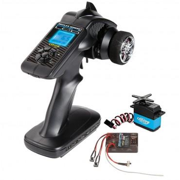 Radio Reflex Wheel Pro II LCD 2,4 GHz Barca