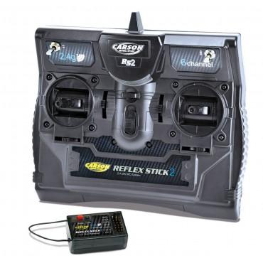 Radio Reflex Stick 2 2.4 GHz 6 canali