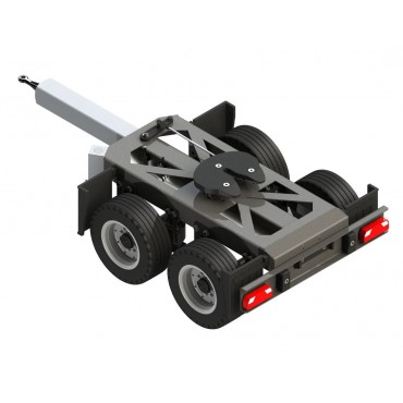 RIMORCHIO 2 AXLE DOLLY 1:14 ++