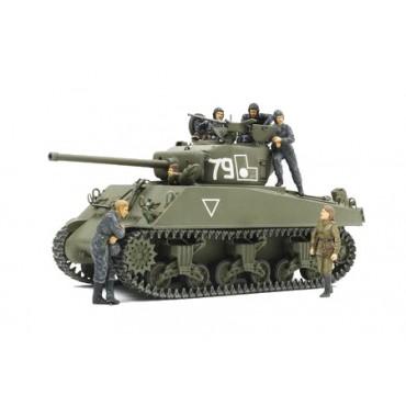 Carro SHERMAN M4A2 'Red Army' con Figure 1:35