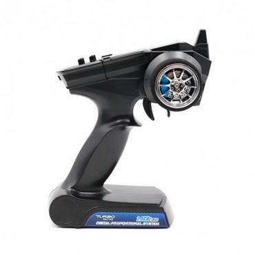 Radiocomando 2CH turbo racing  2,4 Ghz a volantino