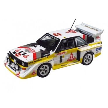 Audi sport 4 S1 Rally Montecarlo 1986 1:24