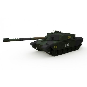Carro GB MBT CHALLANGER 1 Forest RC 1:72 RTR