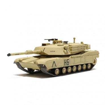 Carro US MBT M1A1 ABRAMS Desert RC 1:72 RTR