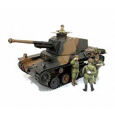 Carro Type 3 Chi-Nu con Figure 1:35