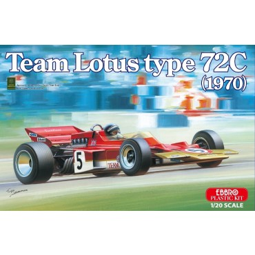 Team Lotus F1 TYPE 72C 1970 1:20