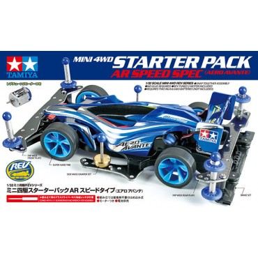 mini4WD STARTER PACK AVANTE Telaio AR