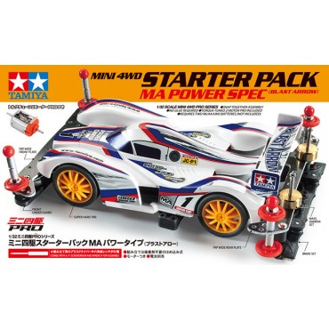 mini4WD STARTER PACK BLAST ARROW telaio MA