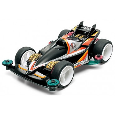 mini4WD POSEIDON-X BLACK Limited Edition