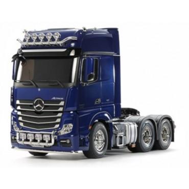 Camion Mercedes ACTROS 3363 6x4  RC 1:14 Tamiya Body Verniciato Pearl Blu