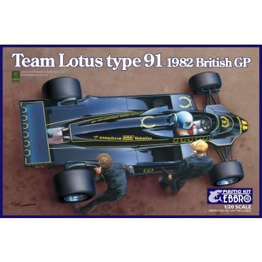 Team Lotus F1 type 91 1982
