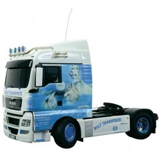 Camion MAN TGX 18.540 XLX WOLF 2 assi RC 1:14 Tamiya