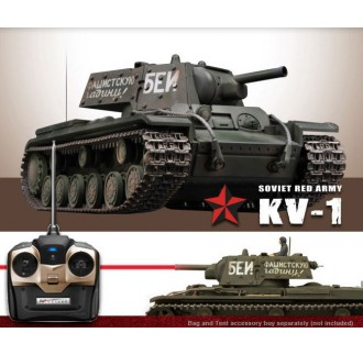 CARRO KV-1B Green Infrared 1:24 RTR