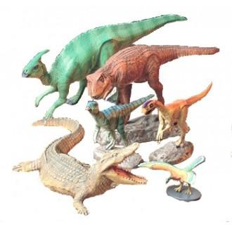 Dinosauri Kit Creature Mesozoiche 1:35
