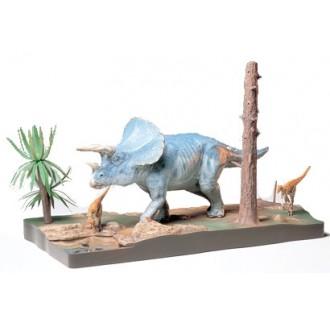 Dinosauro Triceratopo Diorama 1:35