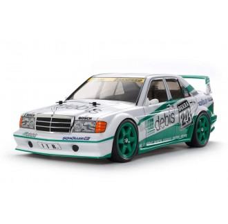 "Mercedes 190E Zakspeed ""Debis"" 4WD Telaio TT-01E 1:10"