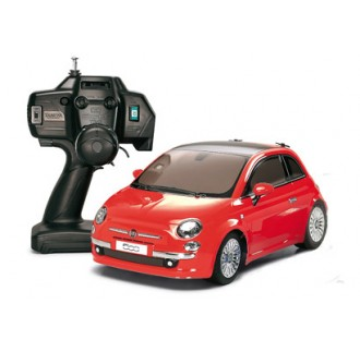 Fiat 500 Red M-03M RTR 1:10