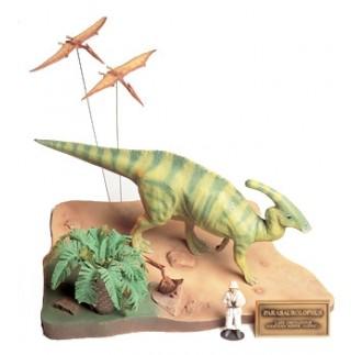 Dinosauro Parasaurolofo Diorama 1:35